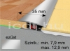 Perfekt System ezüst színű alu burkolatváltó SY1 35mm/90cm
